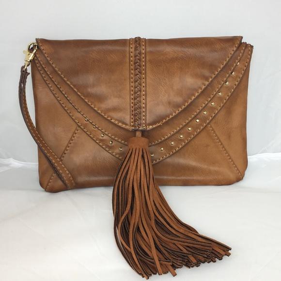 Steve Madden Handbags - Steven Madden Leather Handbag Tassel